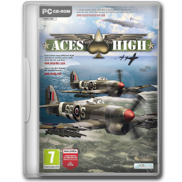 256x256px size png icon of Aces High