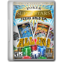 256x256px size png icon of Poker Superstars Texas Holdem All In