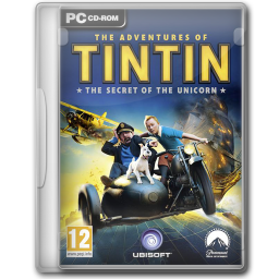 256x256px size png icon of The Adventures of Tintin The Game