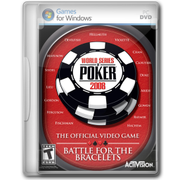 256x256px size png icon of World Series of Poker 2008