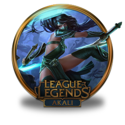 256x256px size png icon of Akali