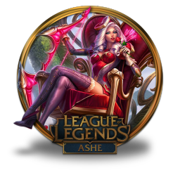 256x256px size png icon of Ashe Heartseeker