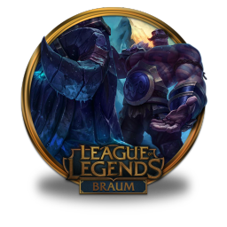 256x256px size png icon of Braum