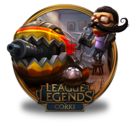 256x256px size png icon of Corki Hot Rod