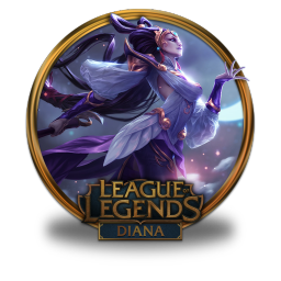 256x256px size png icon of Diana Lunar Goddess