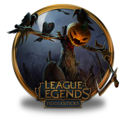 256x256px size png icon of Fiddlesticks Pumpkin