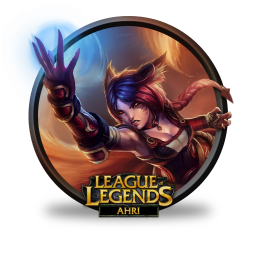 256x256px size png icon of Ahri Foxfire