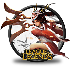 256x256px size png icon of Akali Blood Moon