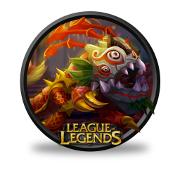 256x256px size png icon of KogMaw Lion Dance