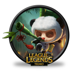256x256px size png icon of Teemo Panda