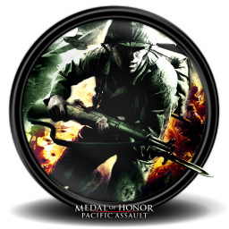 256x256px size png icon of Medal of Honor Pacific Assault new 1a