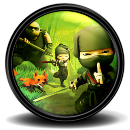 256x256px size png icon of Mini Ninjas 1