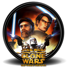 256x256px size png icon of Star Wars The Clone Wars RH 1