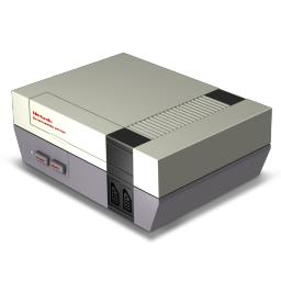 256x256px size png icon of Nes Console
