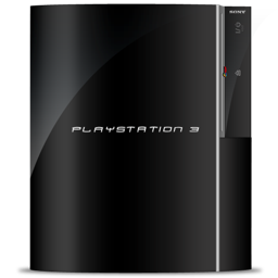 256x256px size png icon of PS3 fat vert