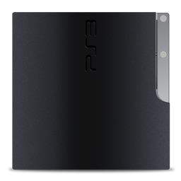 256x256px size png icon of PS3 slim vert