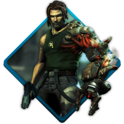 256x256px size png icon of bionic commando