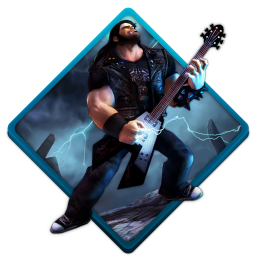 256x256px size png icon of brutal legend