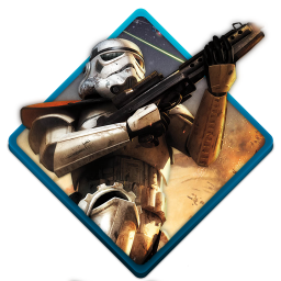256x256px size png icon of star wars battlefront