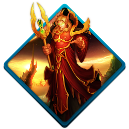 256x256px size png icon of wow blood elf