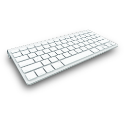 256x256px size png icon of Keyboard