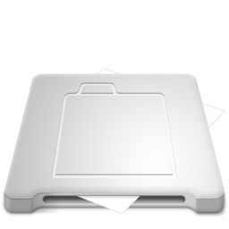 256x256px size png icon of Document