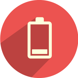 256x256px size png icon of battery bar 1