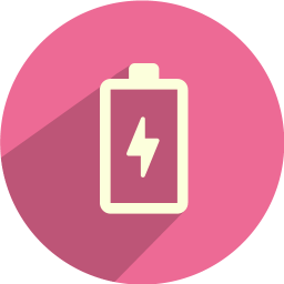 256x256px size png icon of battery loading