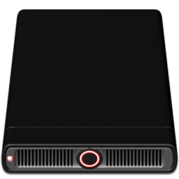 256x256px size png icon of Red External
