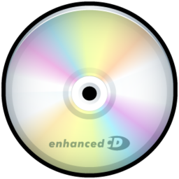 256x256px size png icon of CD Enhanced