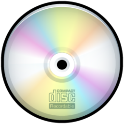256x256px size png icon of CD Recordable