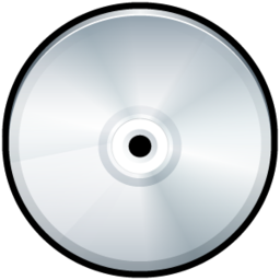256x256px size png icon of File CD Generic