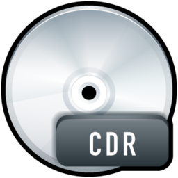 256x256px size png icon of File CDR