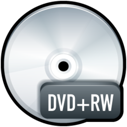 256x256px size png icon of File DVD+RW