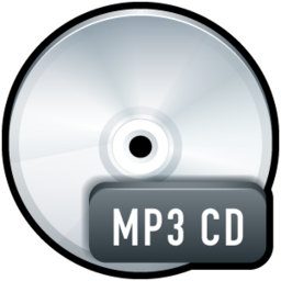 256x256px size png icon of File MP3 CD