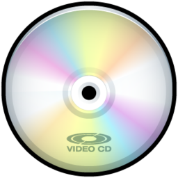 256x256px size png icon of Video CD