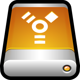 256x256px size png icon of Device External Drive Firewire