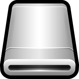 256x256px size png icon of Device External Drive Removable