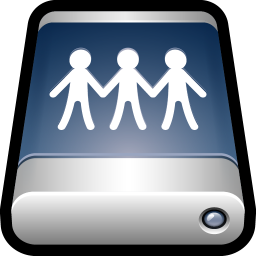 256x256px size png icon of Device External Drive Sharepoint