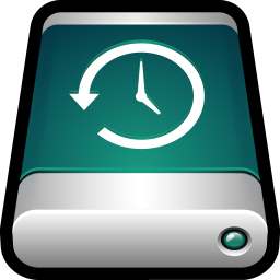 256x256px size png icon of Device External Drive Time Machine
