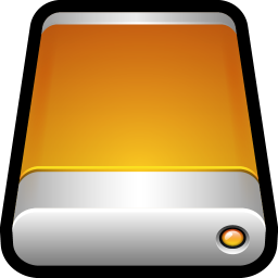 256x256px size png icon of Device External Drive