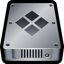 256x256px size png icon of Device Hard Drive Bootcamp
