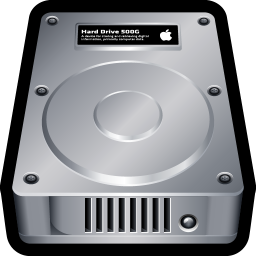 256x256px size png icon of Device Hard Drive Mac