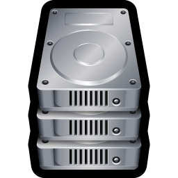 256x256px size png icon of Device Hard Drive Stack