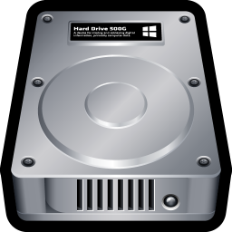 256x256px size png icon of Device Hard Drive Win