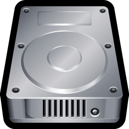 256x256px size png icon of Device Hard Drive