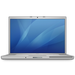 256x256px size png icon of macbookpro 17