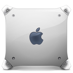 256x256px size png icon of powermac g4 graphite