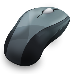256x256px size png icon of Mouse