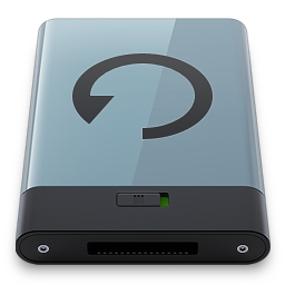 256x256px size png icon of Backup